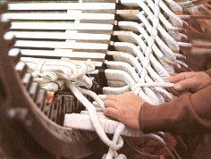 Nagyfeszültségű aszinkron-motor állórésze (forrás: DDC)