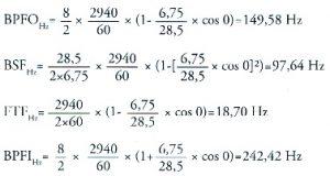 2009/06: Géphibák felismerése rezgésspektrumban - csapágyhiba-egyenletek