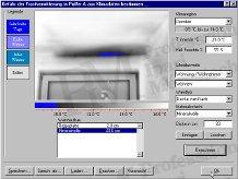 Épület-termográfia mérések elmélete, kiértékelő szoftverek - Fagykárosodás veszély előrejelzése (forrás: Infratec)