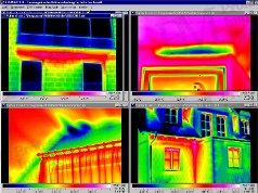 Épület-termográfia mérések elmélete, kiértékelő szoftverek - Fornax épület-termográfiai kiértékelő-szoftver (forrás: Infratec)