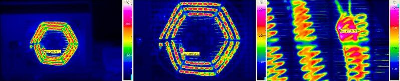 Villamos berendezések termográfiája elmélet-gyakorlat - Geometriai felbontás hősugárzó mérésénél (forrás: PIM)