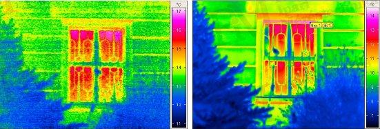 Elégtelen ill. jó termikus felbontás (forrás: PIM)