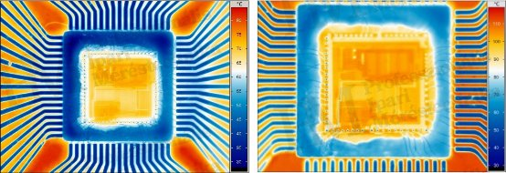 Korszerű hőkamerák szakmai szemmel (VI) - Mikroszkóp-lencsével elérhető felbontás (forrás: Infratec)