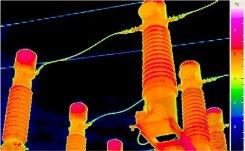 Villamos berendezések termográfiája elmélet-gyakorlat - Napsugárzás reflexiója (forrás: PIM)