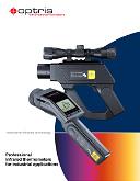 Optris ipari kézi infrahőmérők