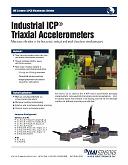 PCB ipari triaxiális rezgésérzéklők