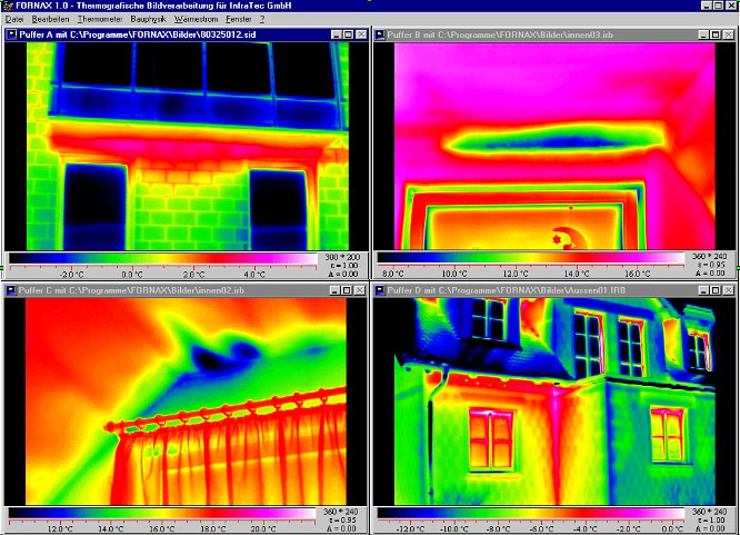 Infratec Fornax hőképkiértékelő szoftver