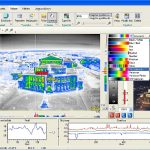 InfraTec IRBIS 3.1 hőképkiértékelő