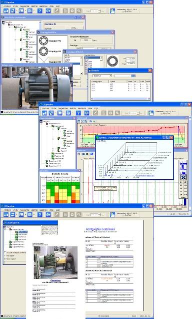 MaintTech CXSpectra rezgésanalizáló szoftver