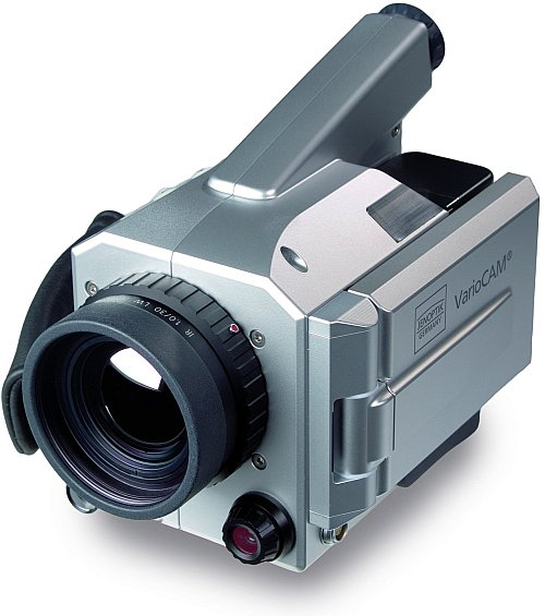 VarioCAM hr research 780 professzionális 50Hz 1,23 Mpixeles hőkamera