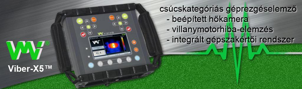 Rezgésmérők, rezgéselemzők és adatgyűjtők